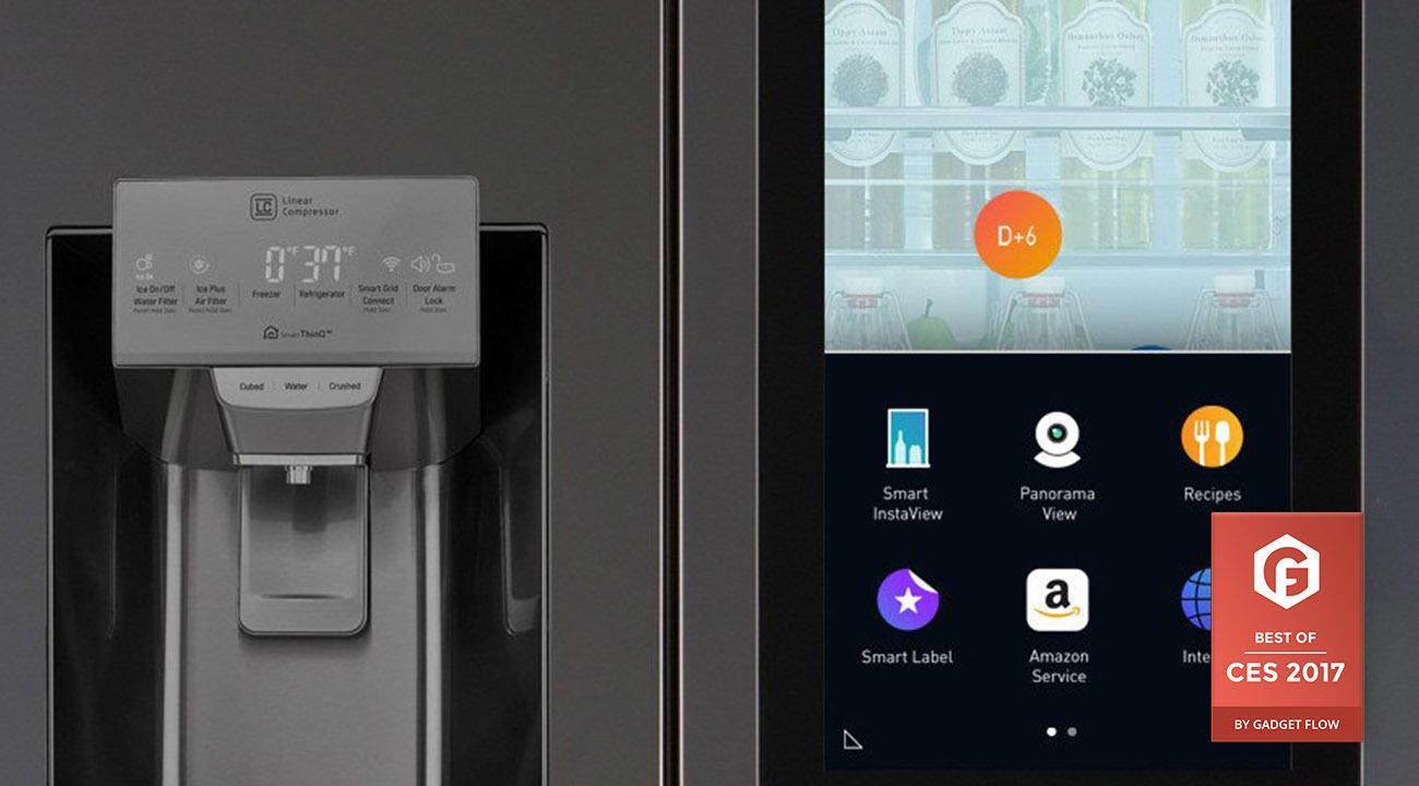 LG Instaview Refrigerator CES 2017 Award