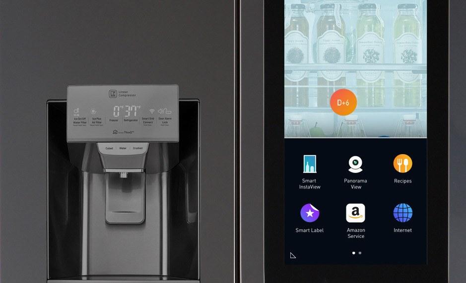 LG Smart Instaview Refrigerator
