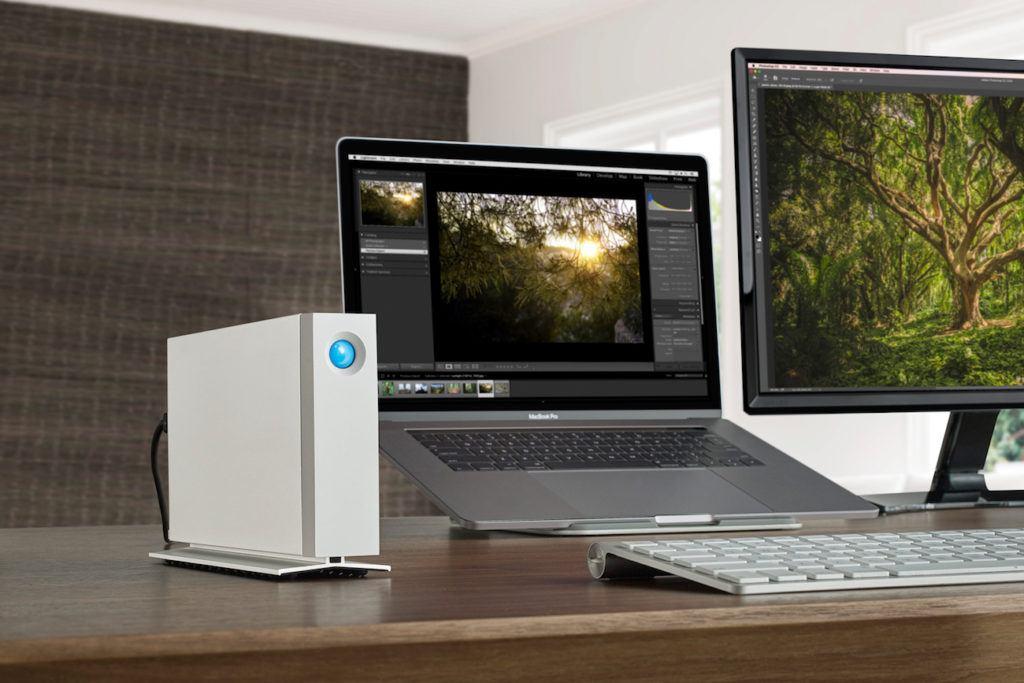 LaCie+d2+Thunderbolt+3+Desktop+Hard+Drive