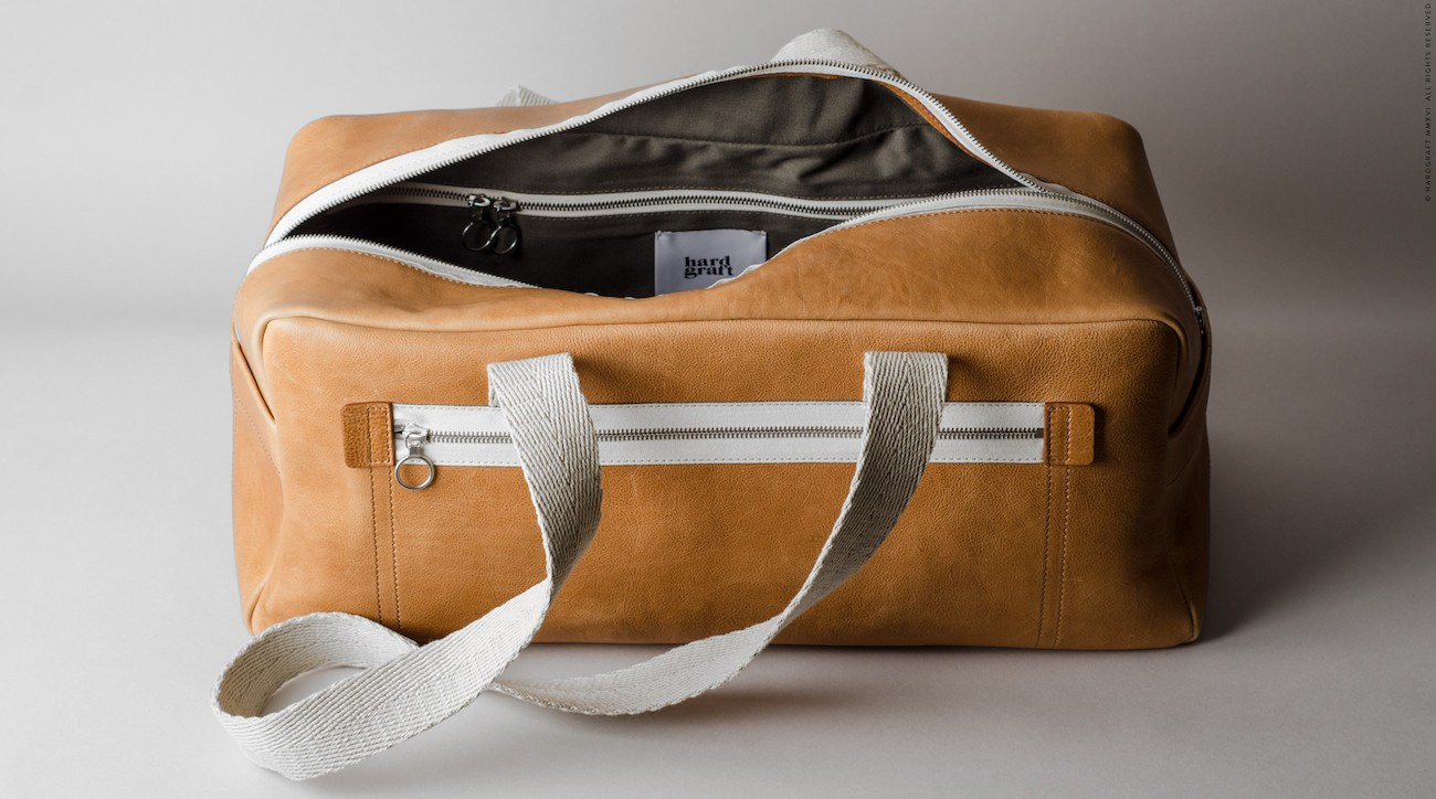 Leather Gym Bag By Hard Graft