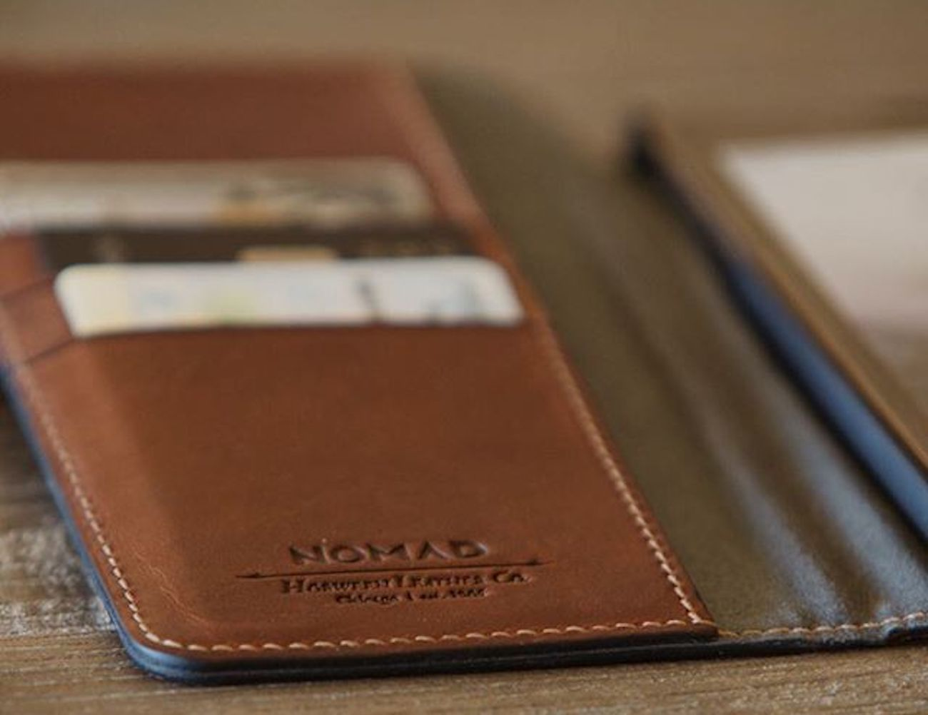 Leather iPhone Folio Wallet