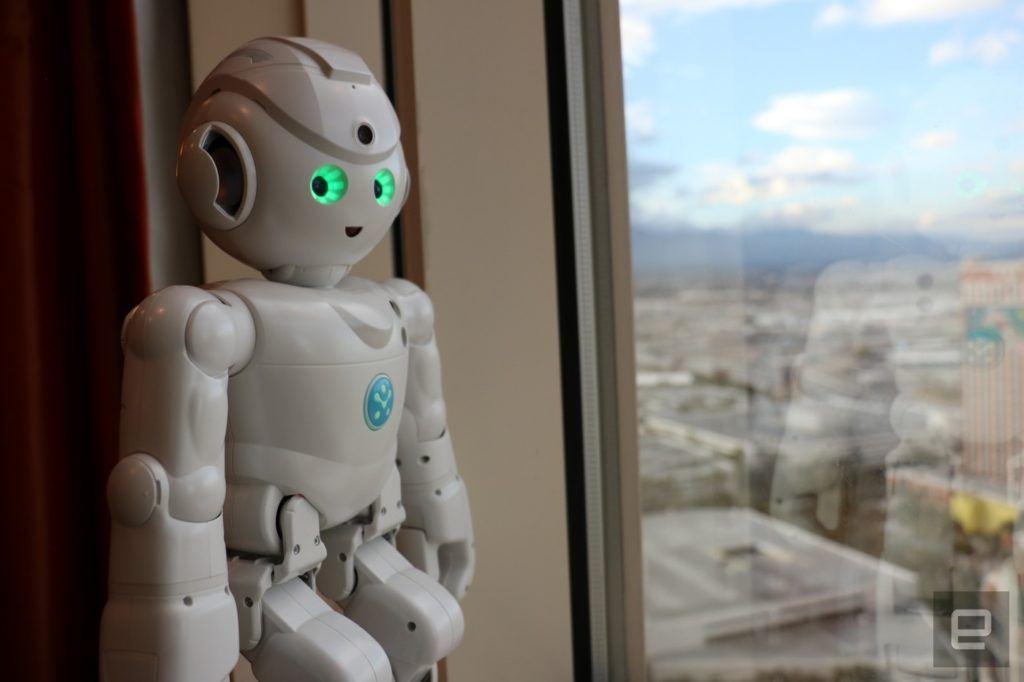 Alexa Enabled Robot