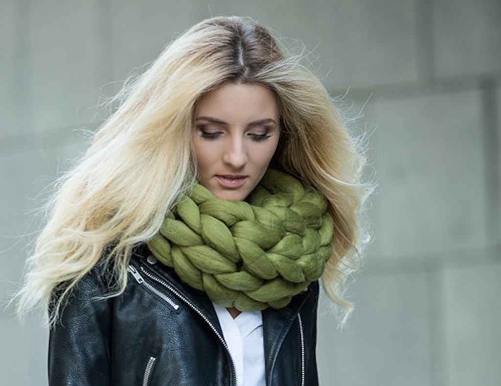 Ohhio Merino Wool Cowl