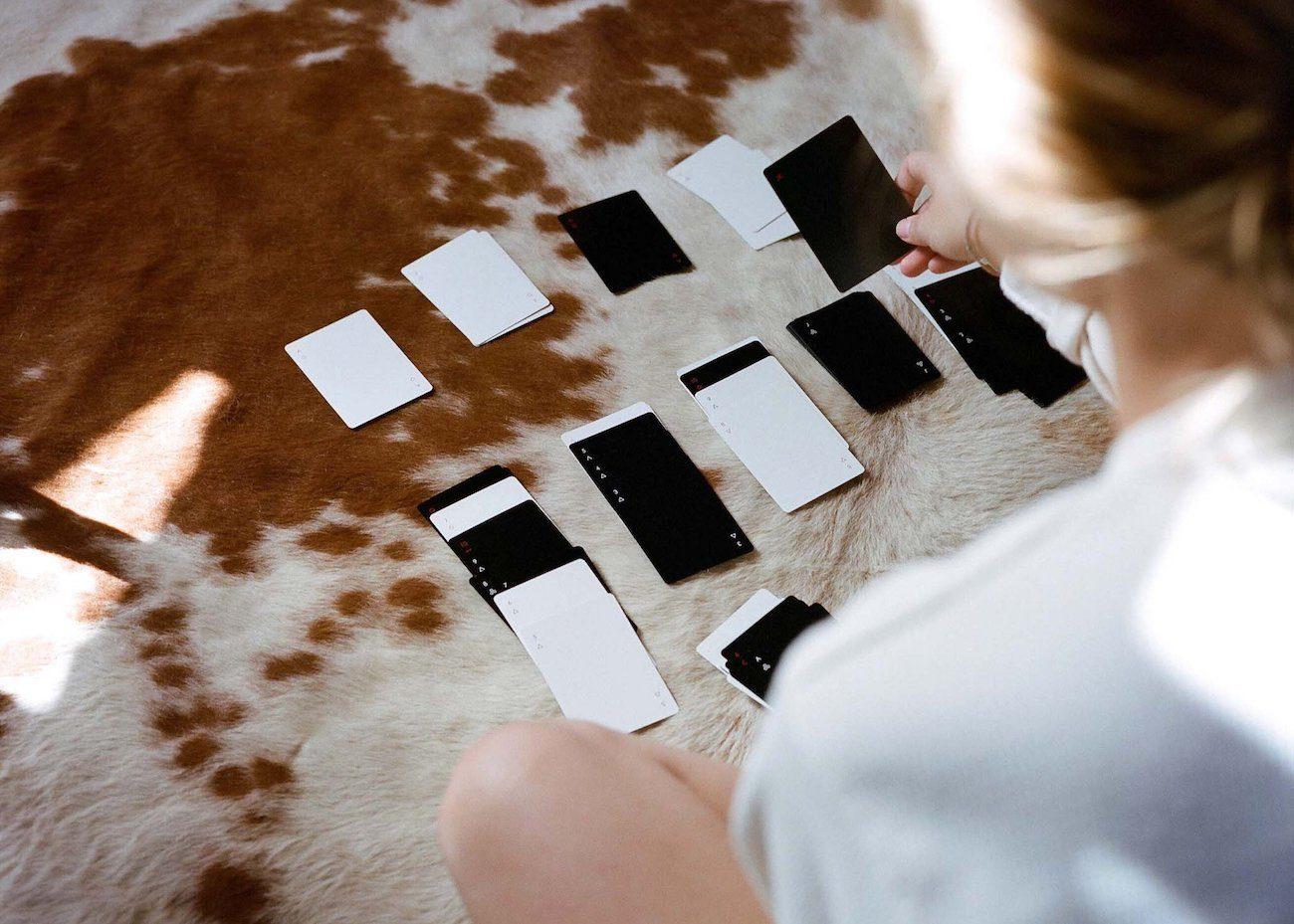 Minim Minimalist Playing Cards