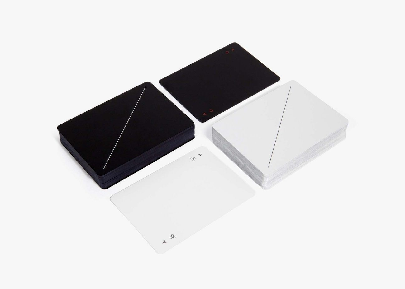 Minim Minimalist Playing Cards