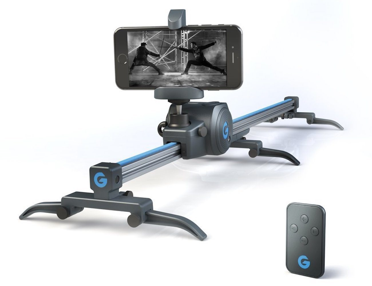 Movie Maker Set Electronic Sliding Track