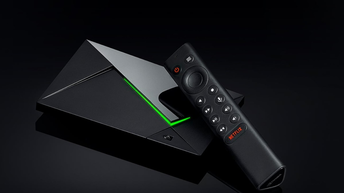 NVIDIA SHIELD TV Pro Streaming Media Player blends right into your entertainment setup