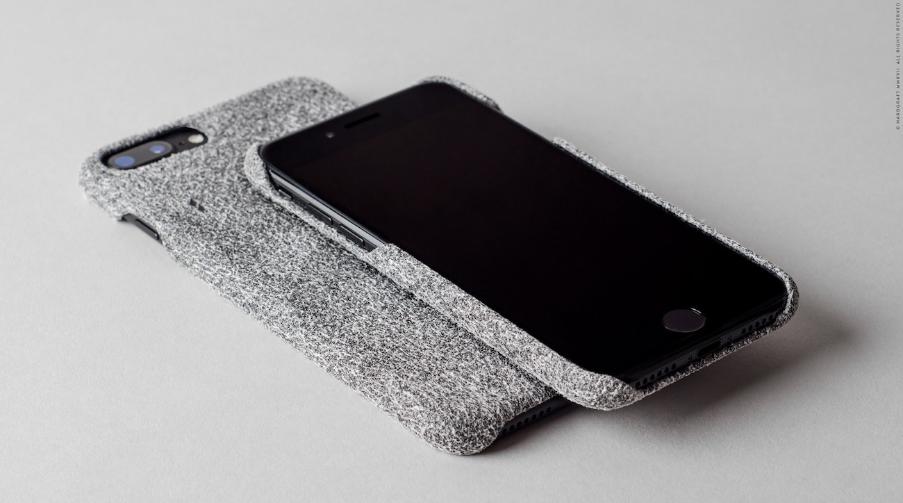 Nap+Suede+IPhone+Case