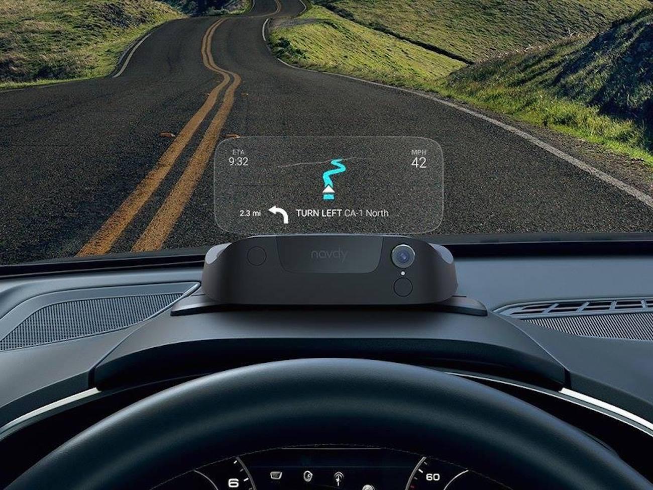 Navdy Portable Head-Up Display