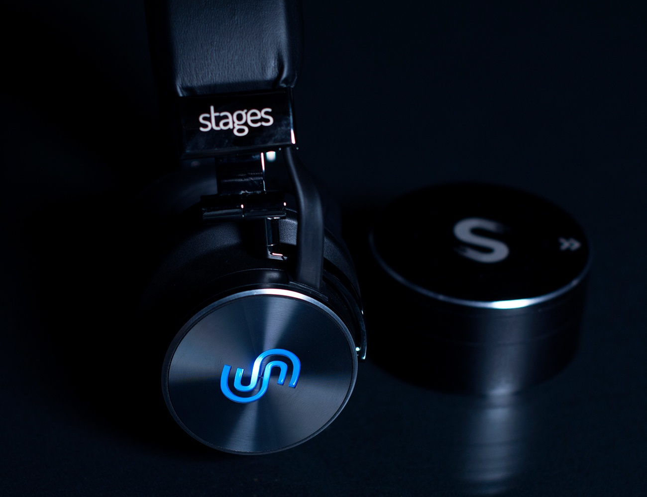 Stages Hero Headphones And Sidekick Tabletop Products