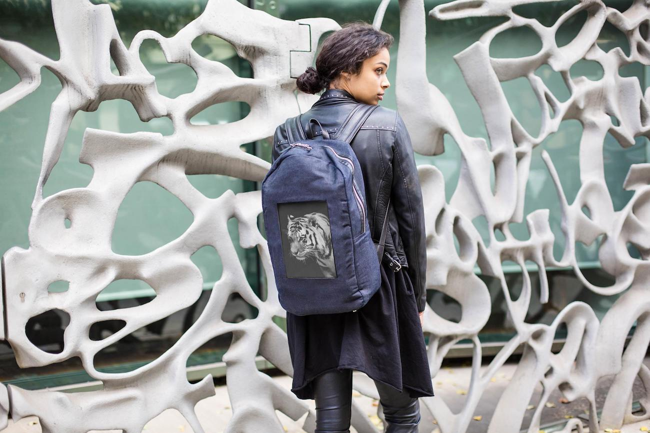 POP-I e-Paper Backpack