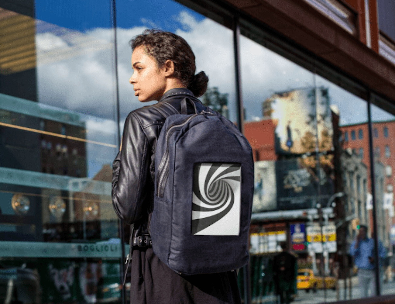 POP-I e-Paper Backpack