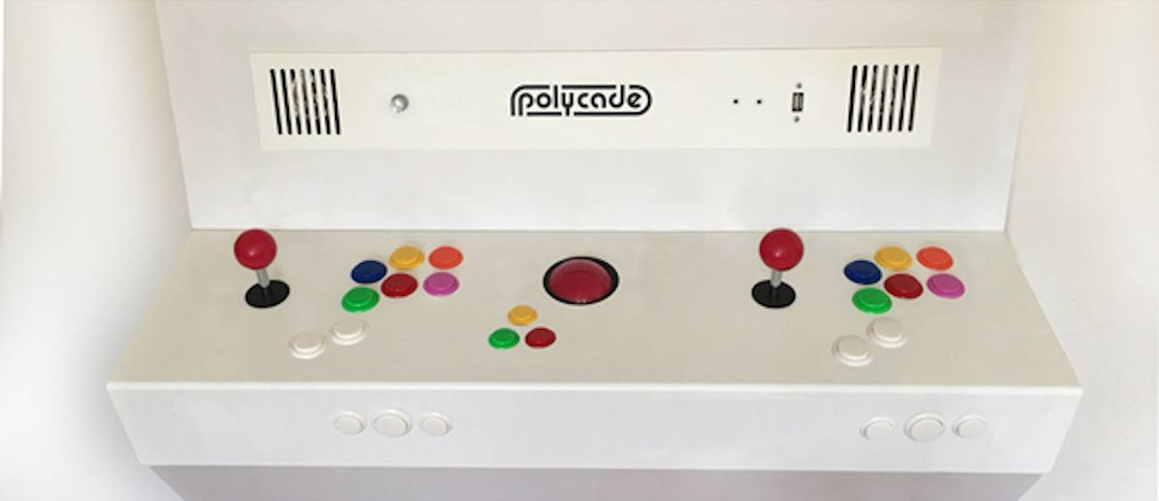 Polycade Arcade Interface