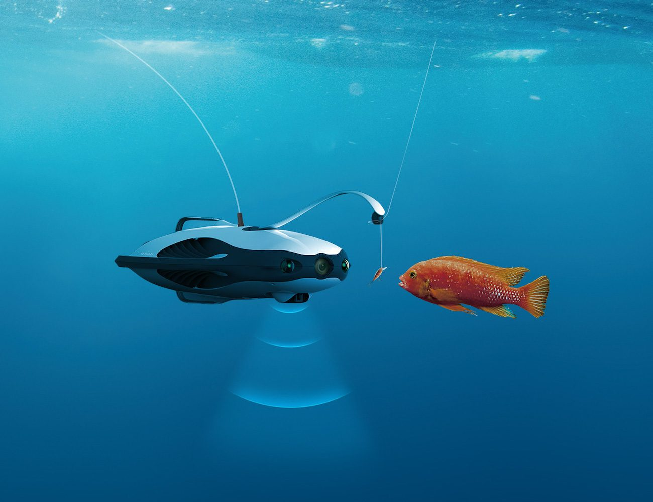 PowerRay Submersible Fishfinder