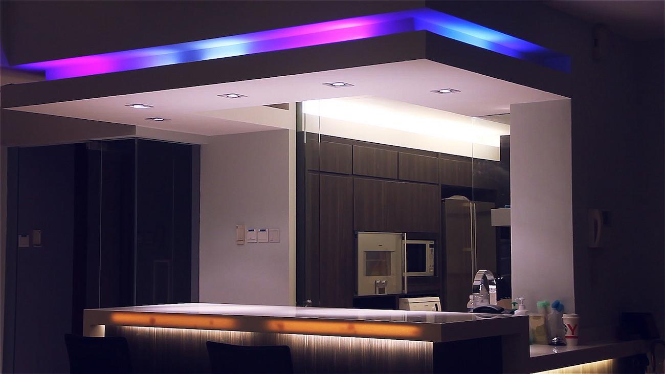 Qube Smart Wi-Fi Light Strips
