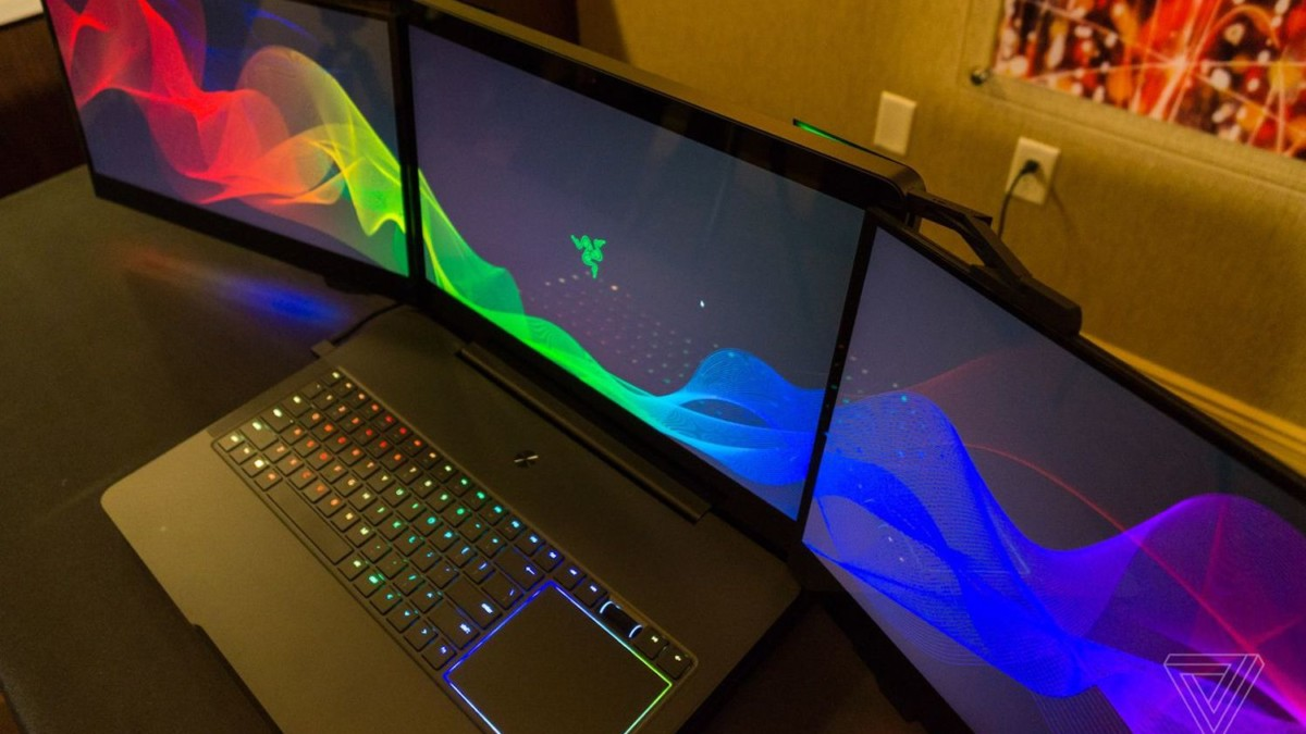 Razer Project Valerie Triple-Display Laptop comes with 3 built-in 17.3″ 4K screens