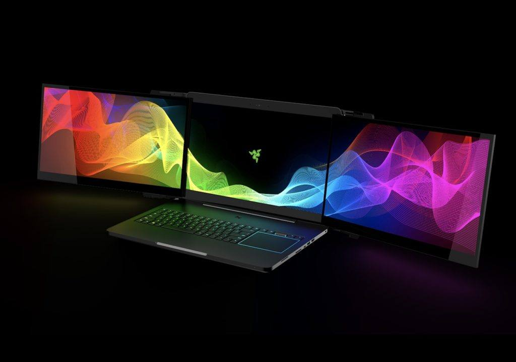 Triple Screen Laptop