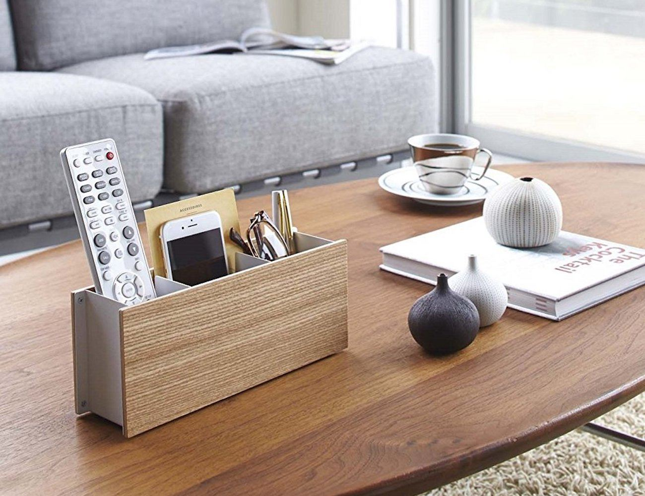 Rin Pen and Remote Control Rack