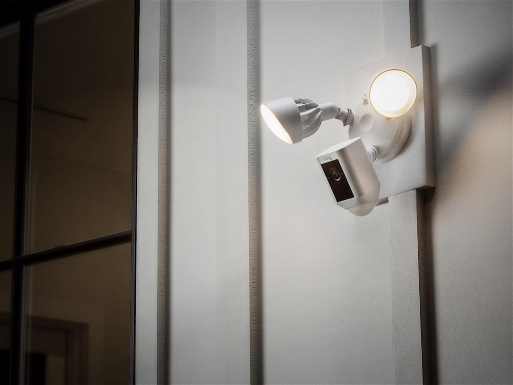 Ring+Security+Floodlight+Camera