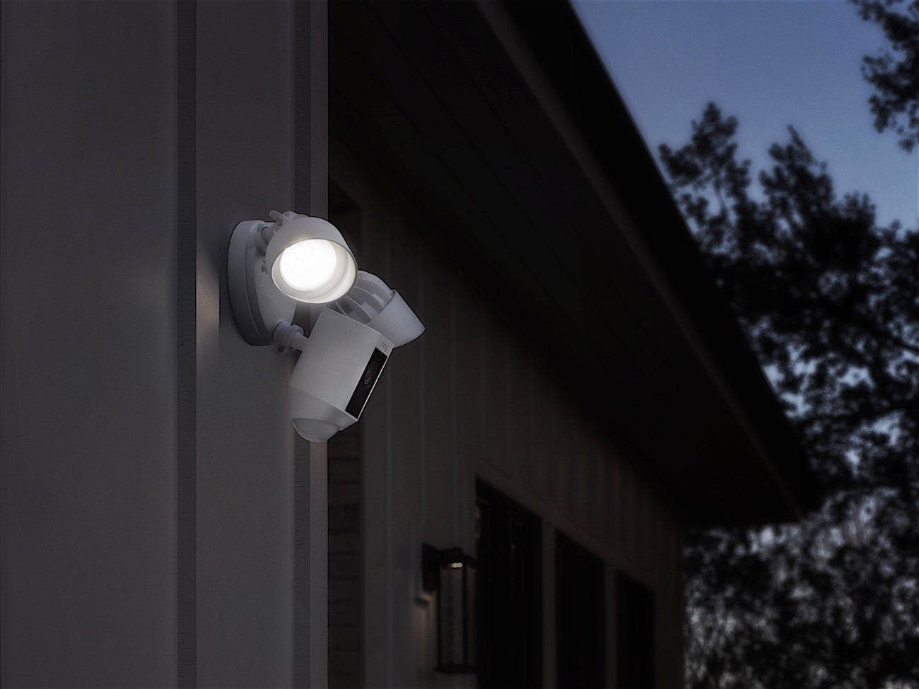 Ring Security Floodlight Camera 187 Gadget Flow
