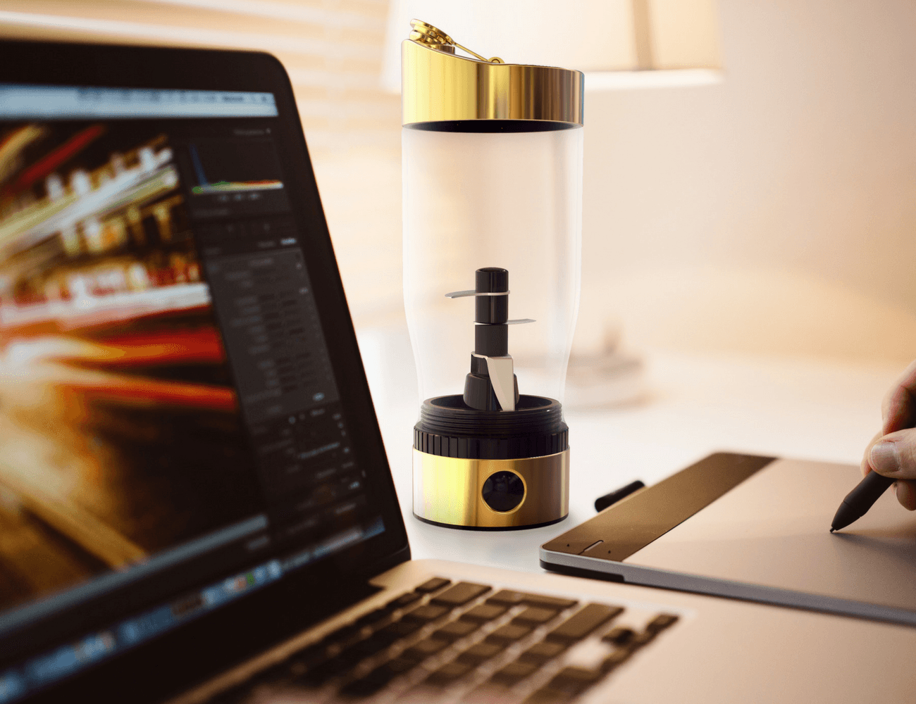 Rocket Bottle Portable Blender