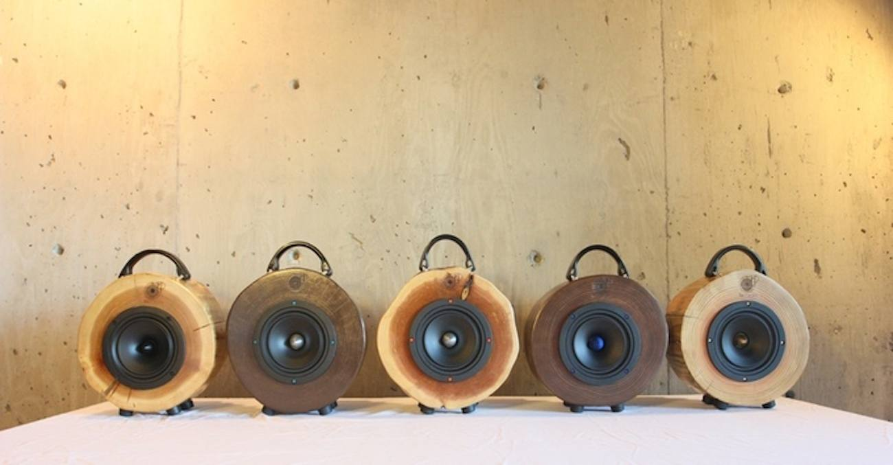 Rockit Logs Wood Log Speaker
