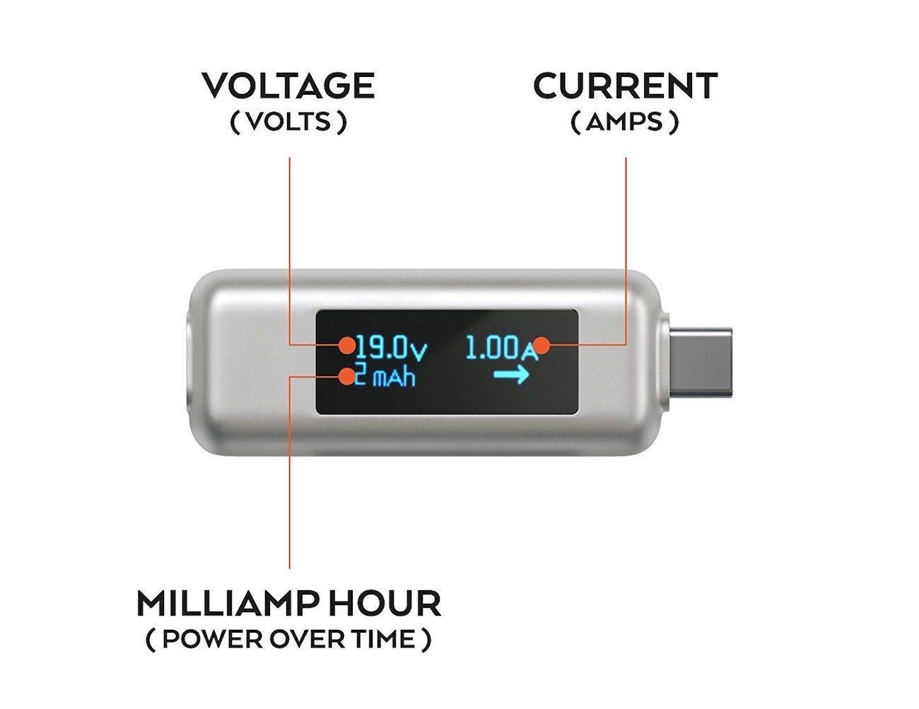 Satechi USB-C Power Meter Tester