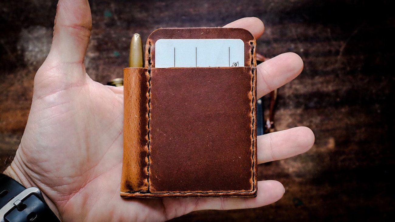 Scrawllet Leather Everyday Carry Wallet