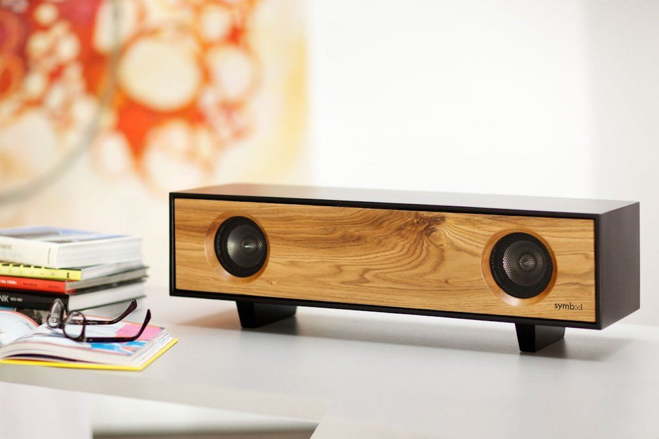 Tabletop HiFi Amplified Speaker Cabinet