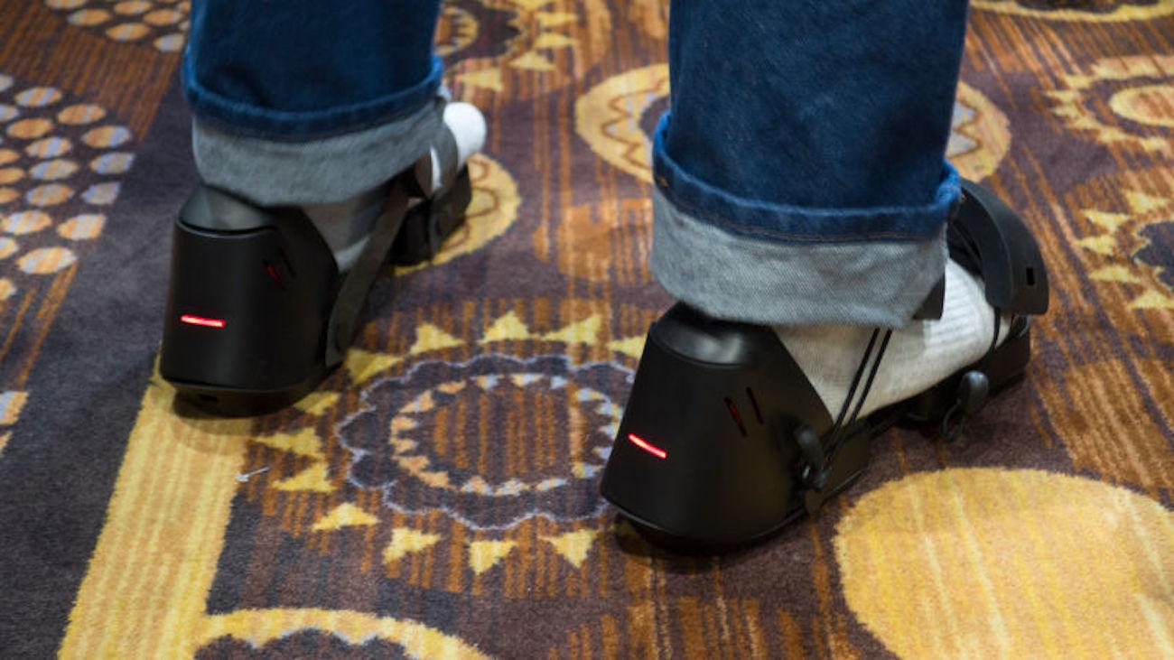 Taclim Haptic Feedback VR Shoes
