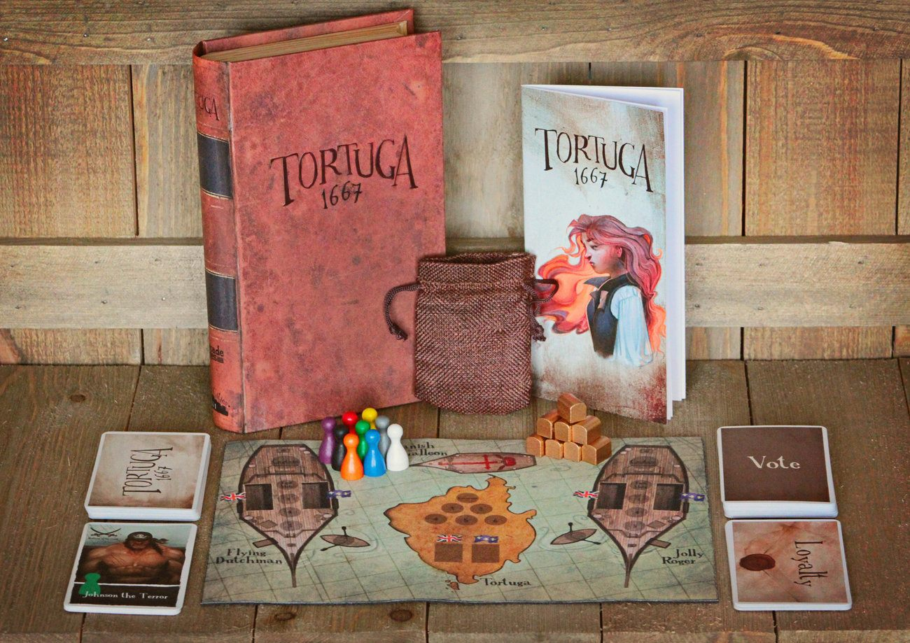 Tortuga 1667 Pirate Game of Mutiny