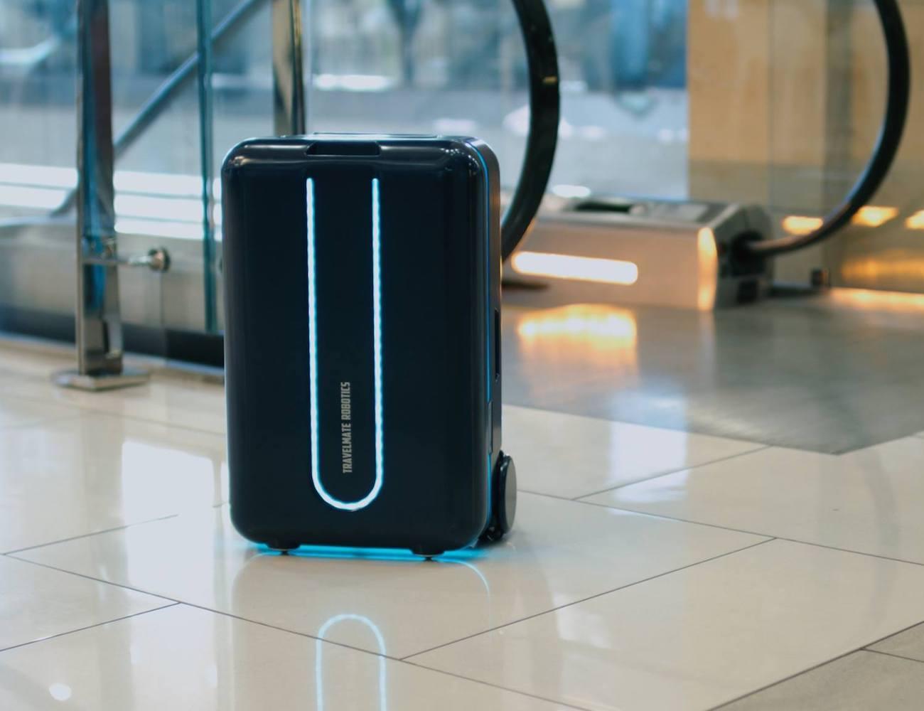 Travelmate Robot Suitcase Review » The Gadget Flow