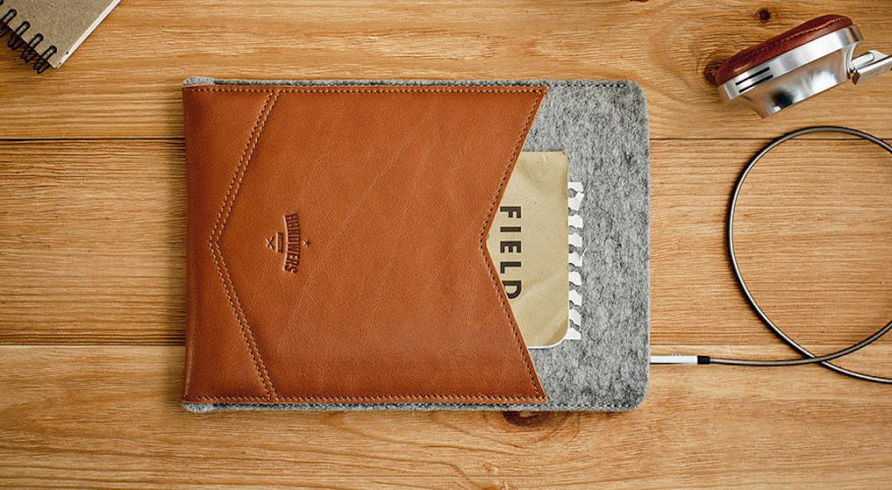 WELT Leather iPad Case