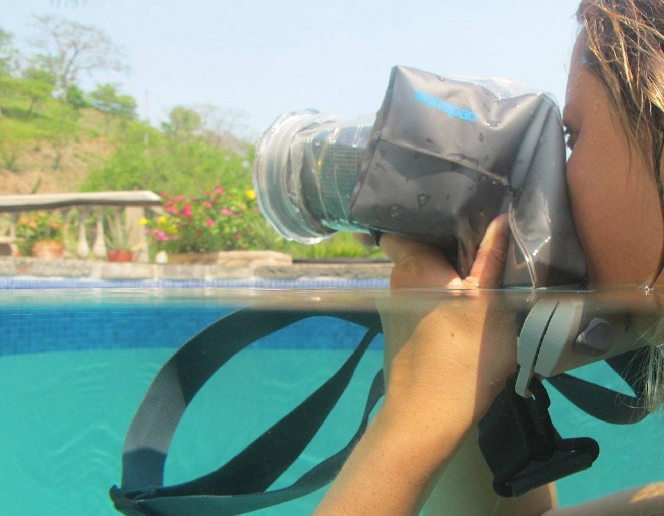 Waterproof DSLR Camera Case