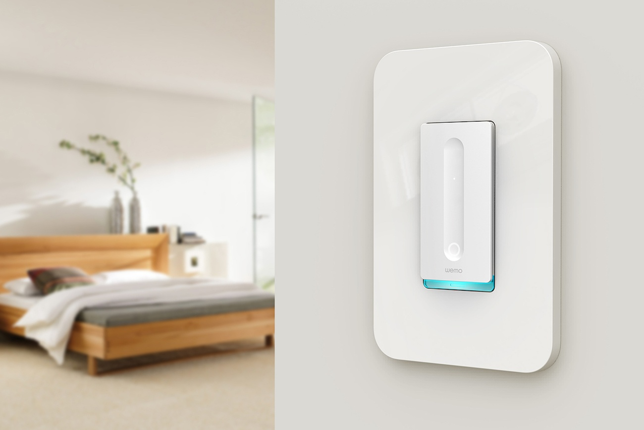 wemo smart dimmer switch review the gadget flow. Black Bedroom Furniture Sets. Home Design Ideas