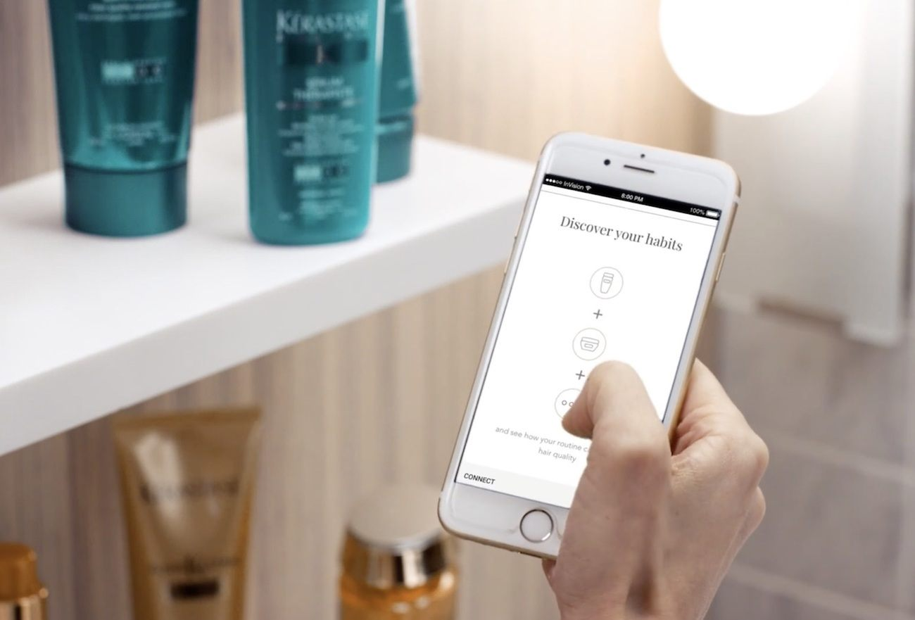 Withings Hair Coach Smart Brush