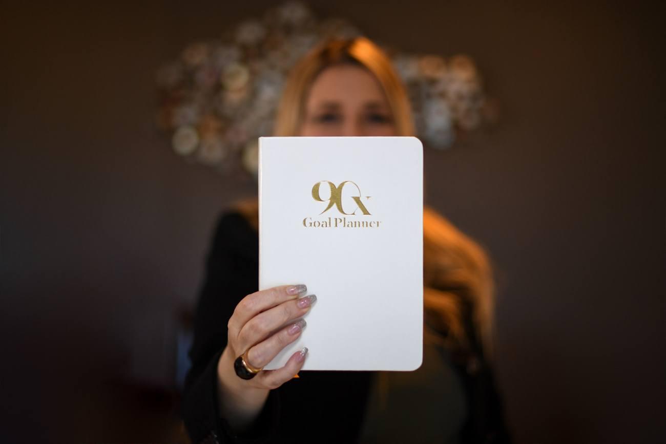 90X Goal Planner Notebook