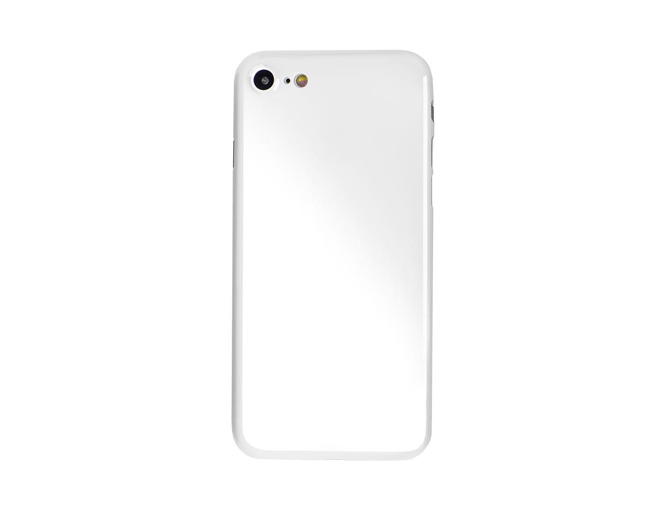 A thin case that turns your iPhone Jet White