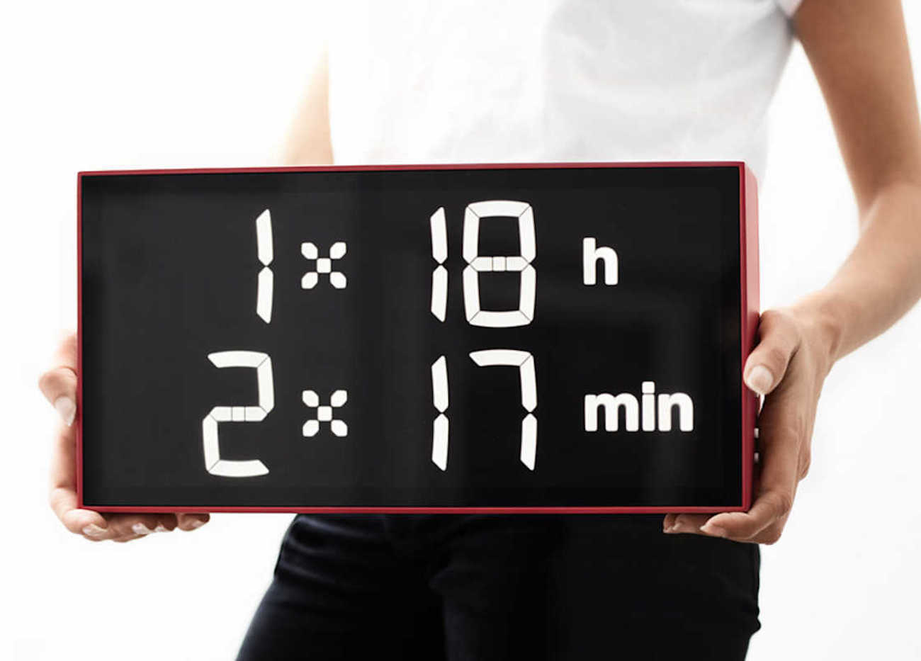 Albert Digital Mathematic Clock