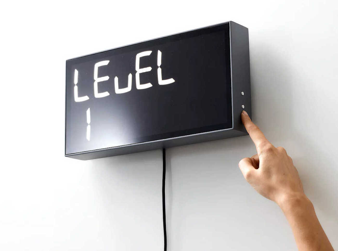 Albert Digital Mathematic Clock
