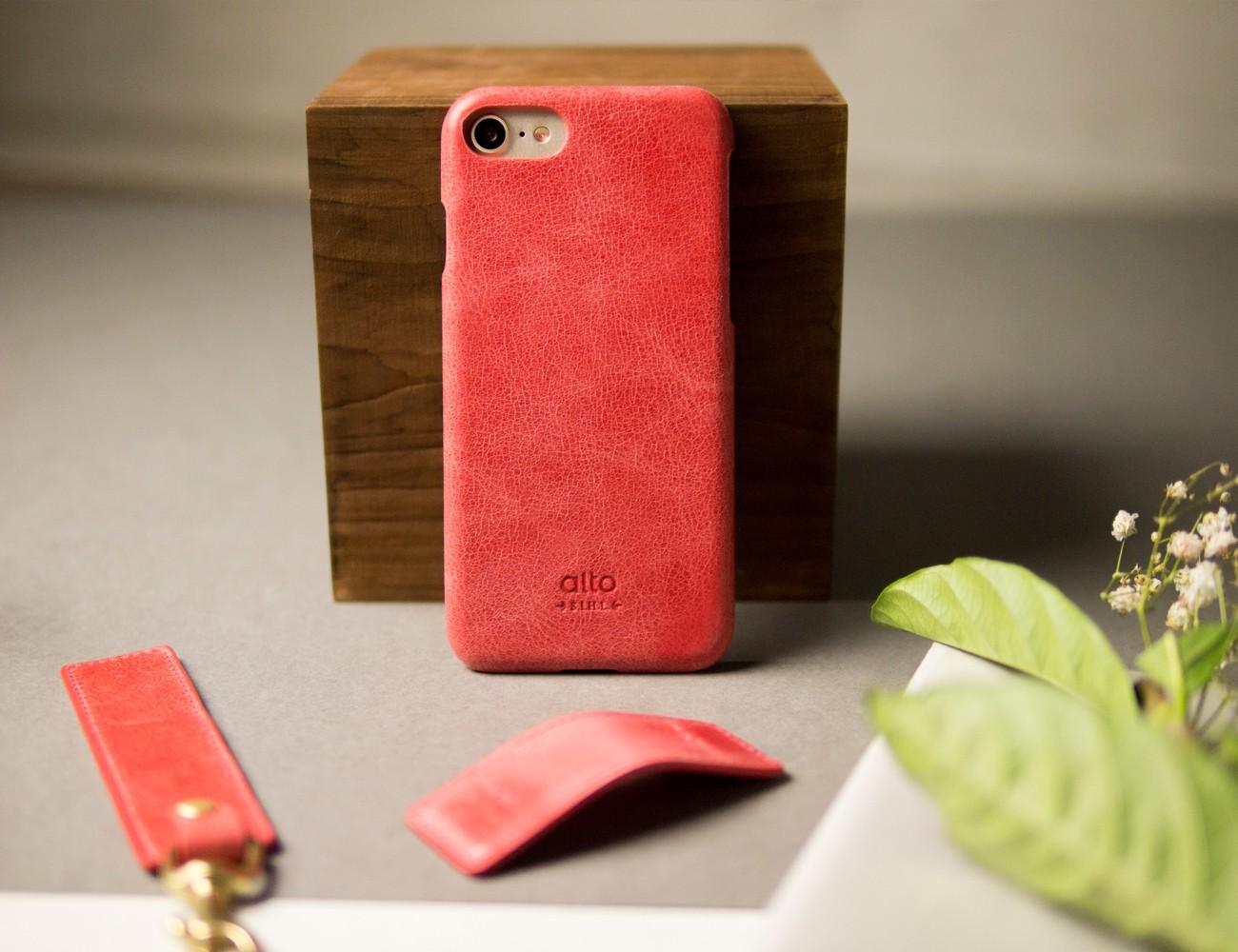 Alto Metro Leather iPhone Case