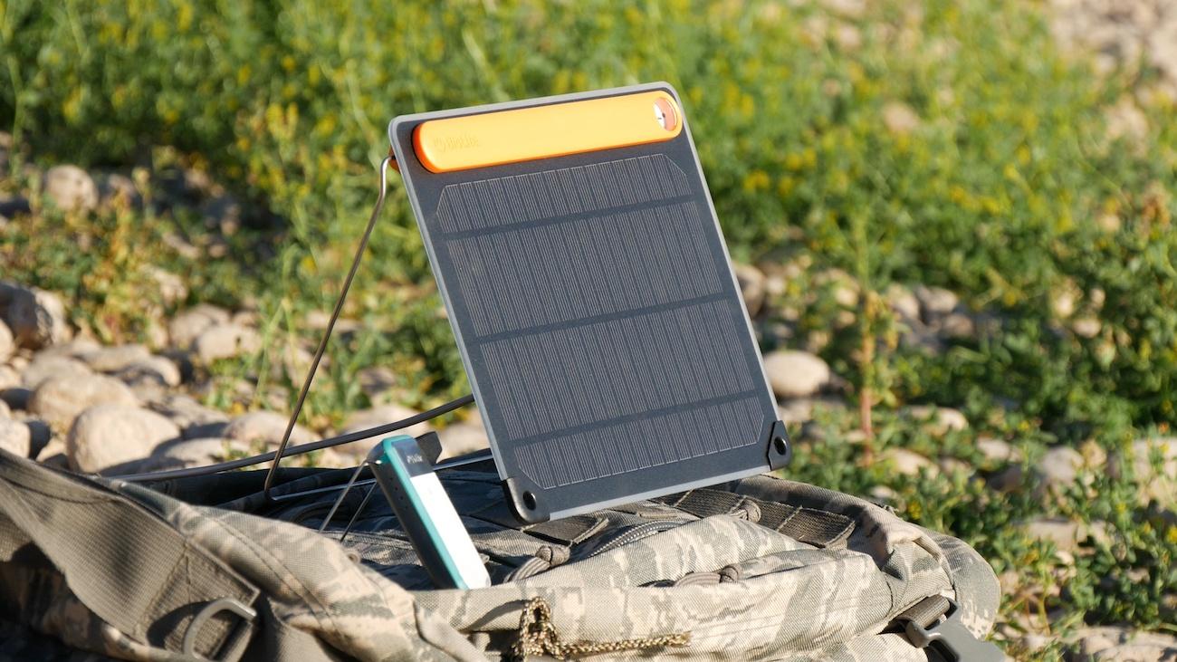 BioLite SolarPanel 5+ Solar Charger