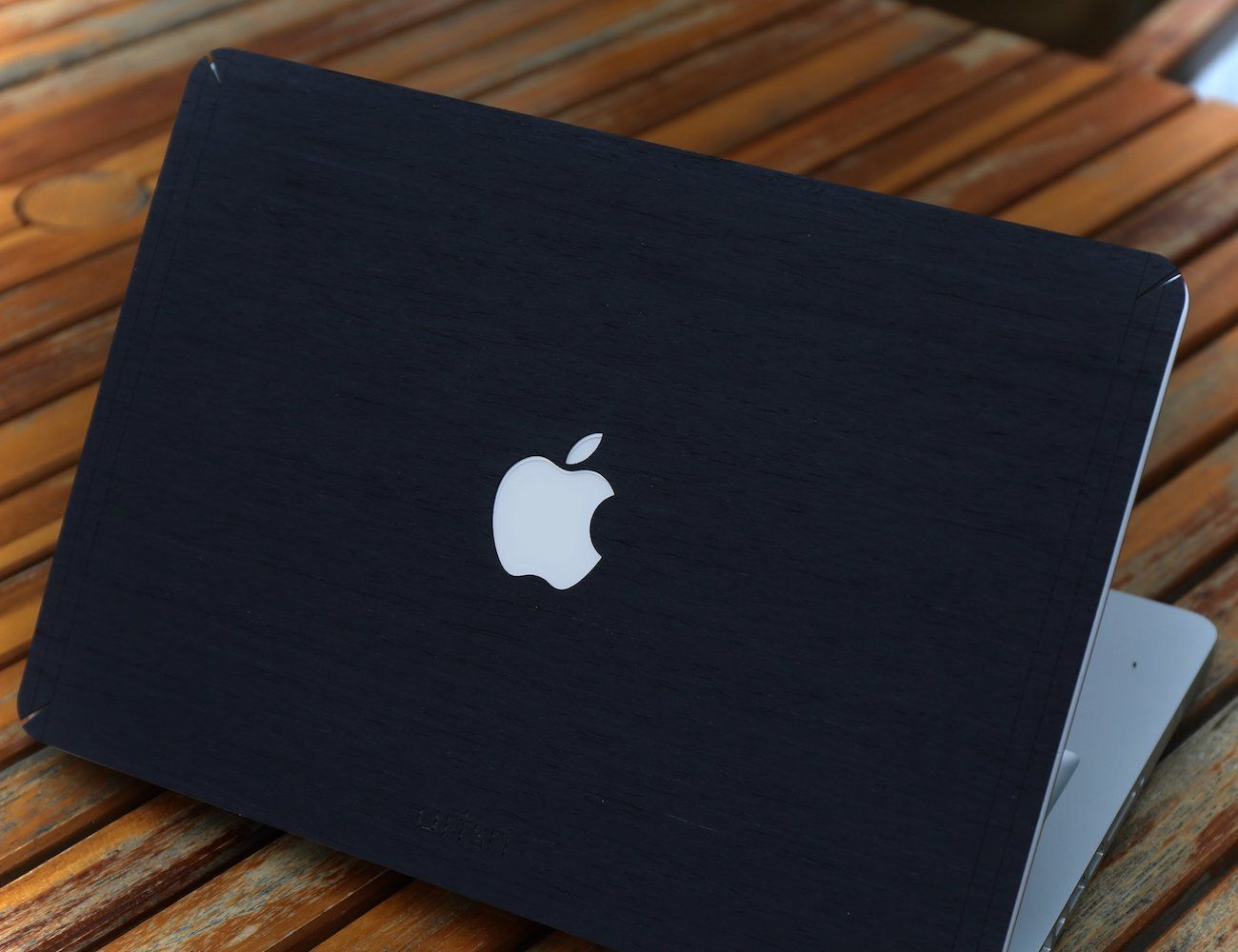 Black+Ash+Wood+MacBook+Skin