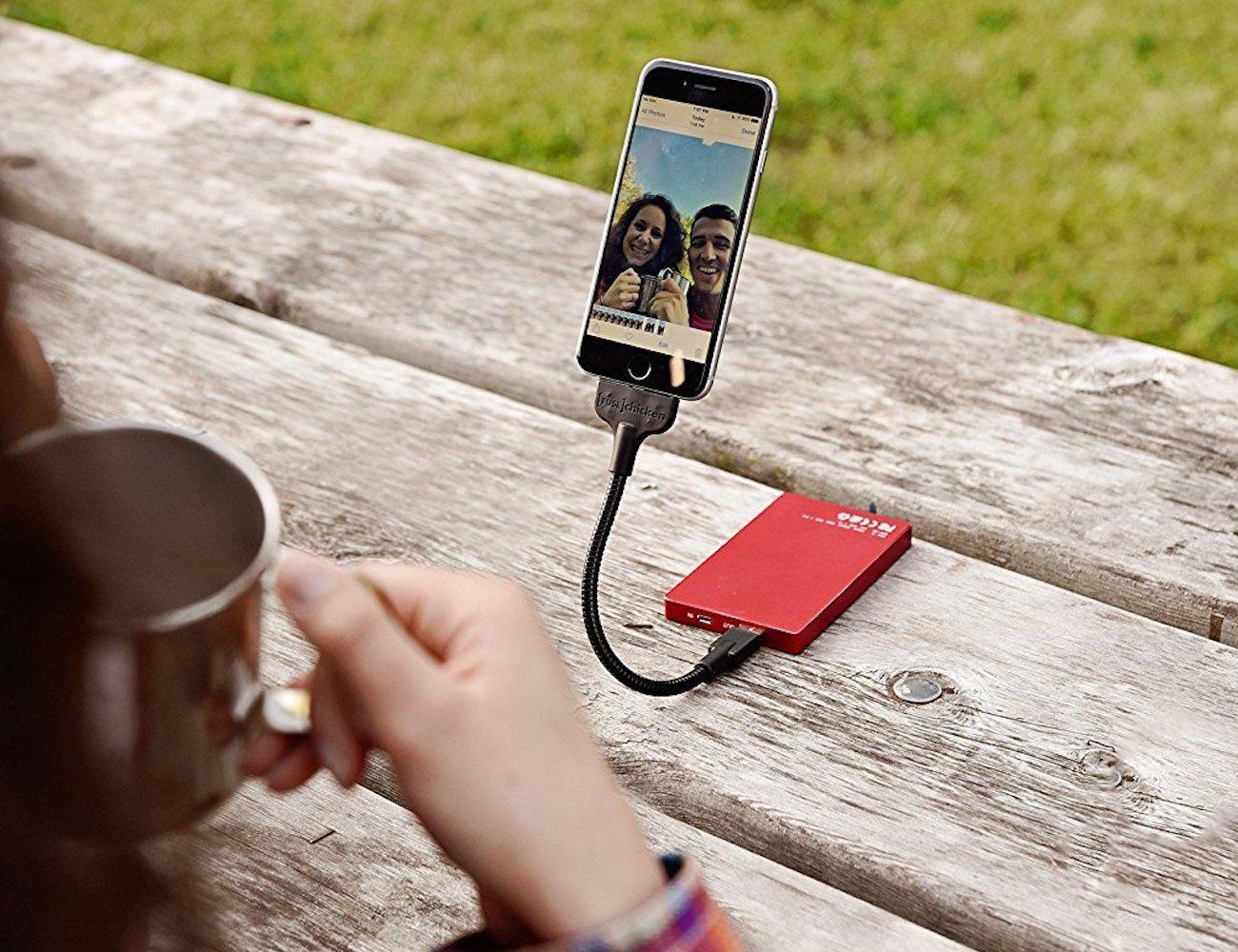 Bobine Blackout iPhone Cable Mount