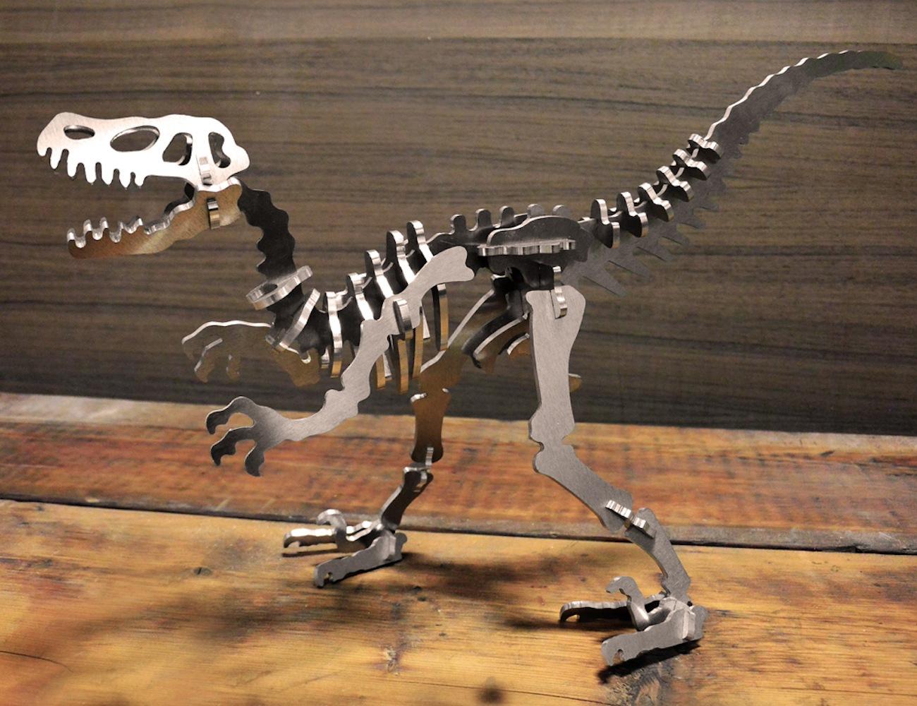 3D+Aluminum+Dinosaur+Skeleton