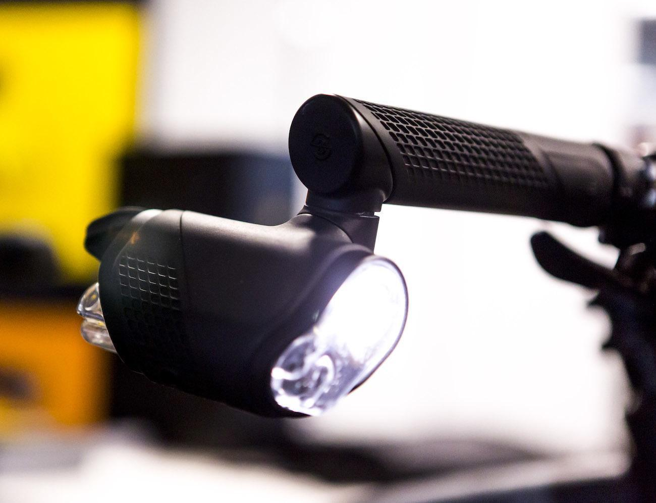 Brightspark Cyclist Safety Lighting Keeps You Safe on the Road