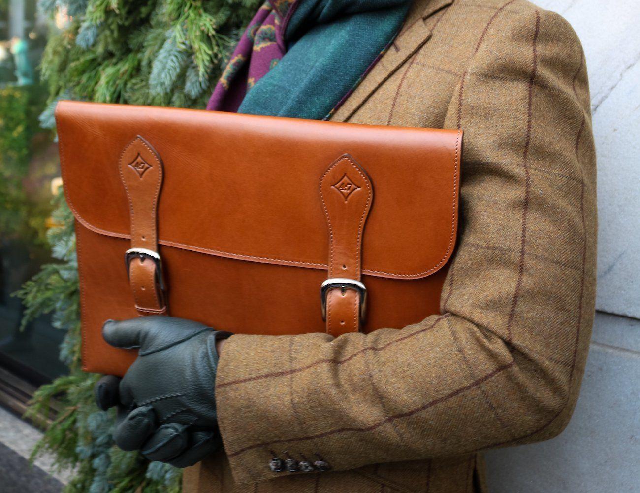 Cafritz 15-Inch Leather Portfolio Case