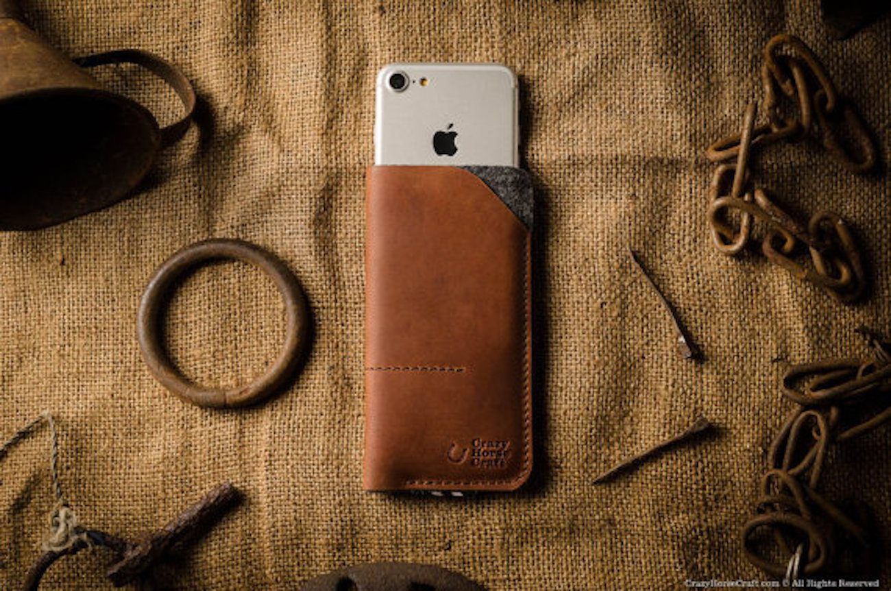 Leather+iPhone+7+Wallet+Sleeve