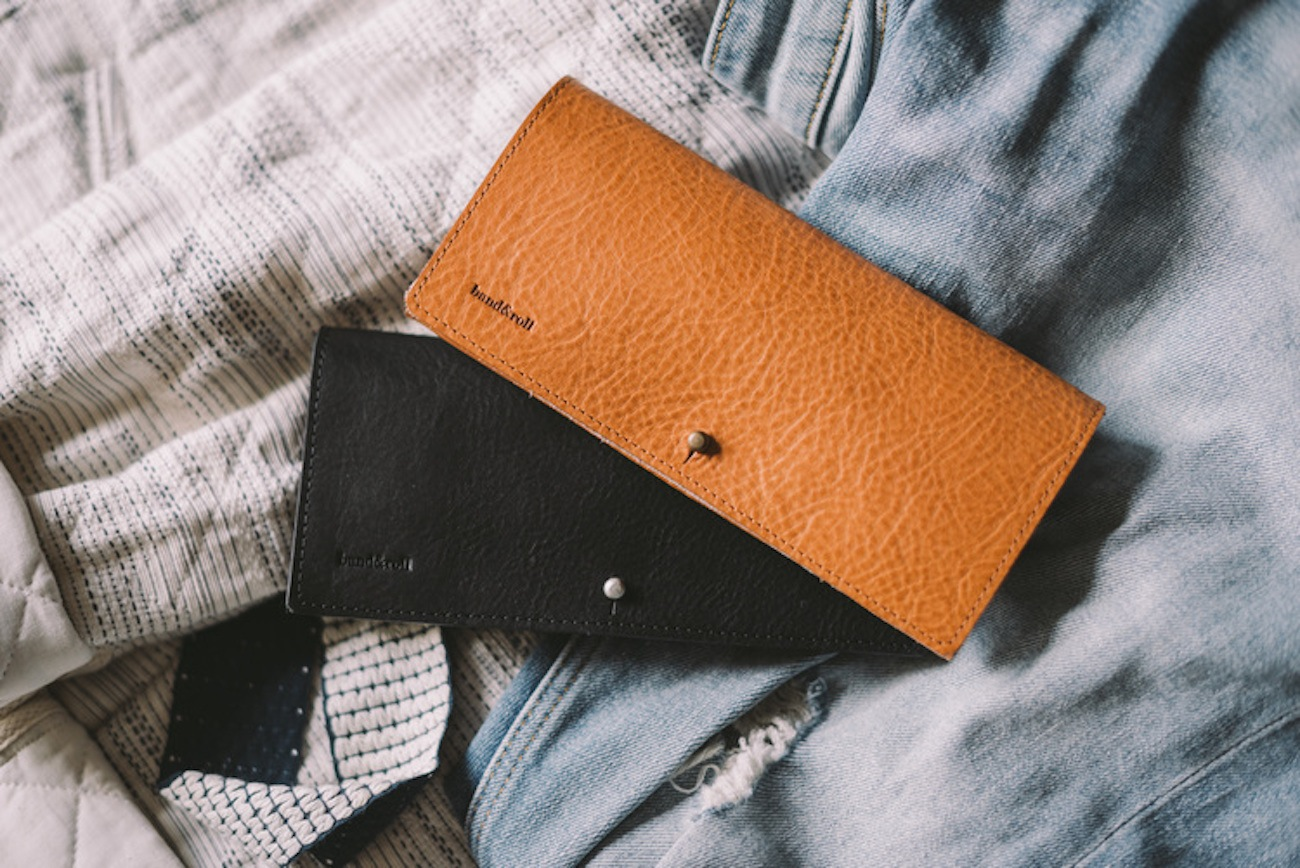 DUO Leather Sunglasses Case by band&roll