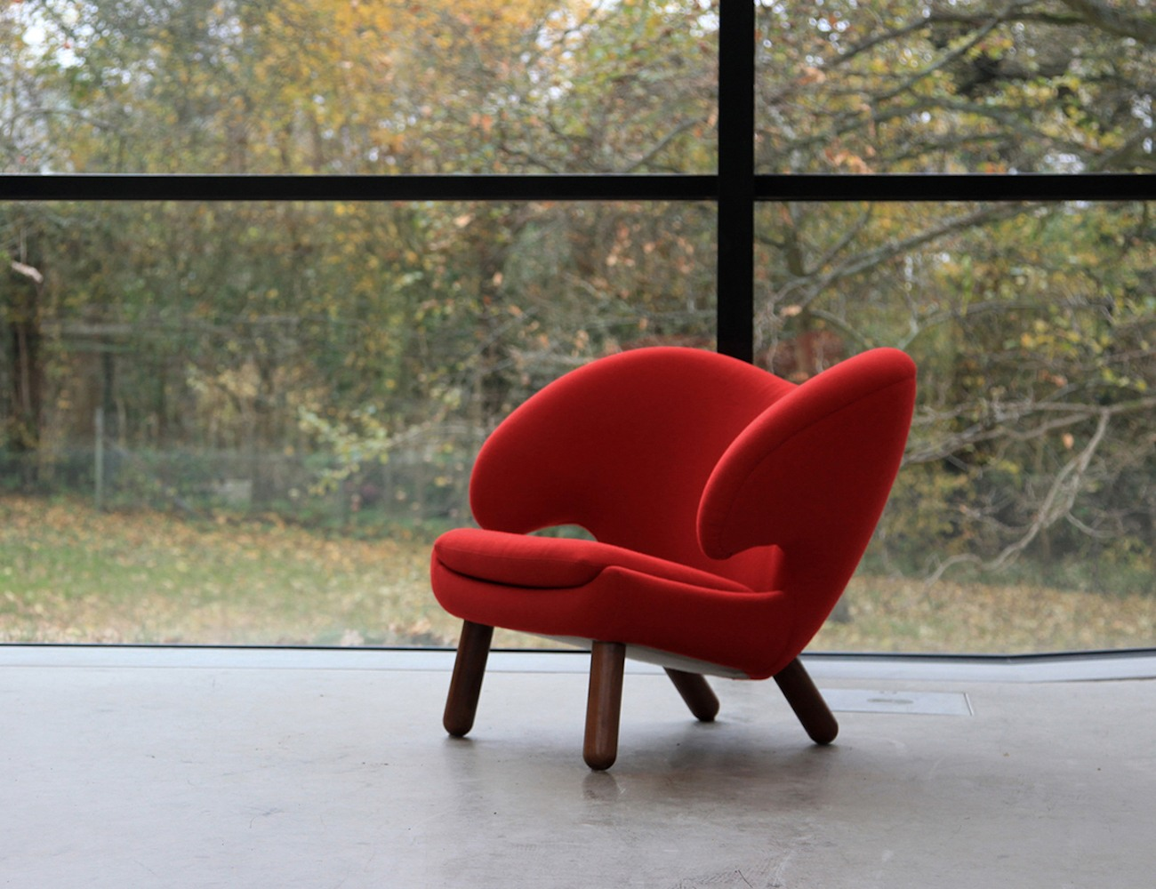 Finn Juhl Pelican Leather Chair